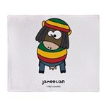 jamoocan Throw Blanket