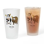 udder envy Drinking Glass