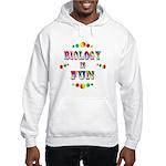 Biology is Fun Hooded Sweatshirt