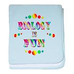 Biology is Fun baby blanket