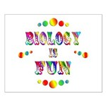Biology is Fun Small Poster