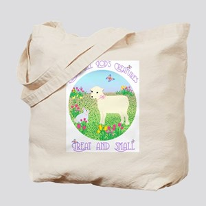 Bless All God's Creatures Tote Bag
