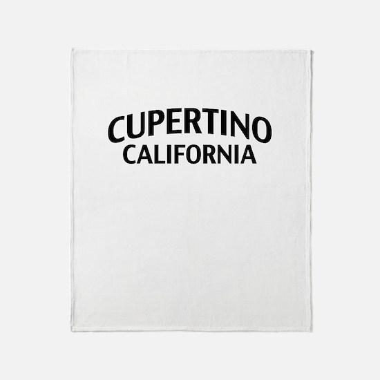 Cupertino California Throw Blanket