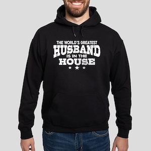 The World's Greatest Husband Hoodie (dark)