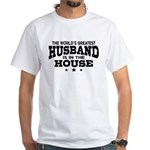 The World's Greatest Husband White T-Shirt