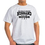The World's Greatest Husband Light T-Shirt