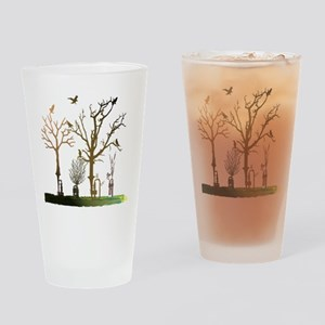 Natural Trumpets Drinking Glass