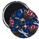 "Cute Pirate Captain 2.25"" Magnet (100 Pk)"