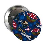 "Cute Pirate Captain 2.25"" Button"