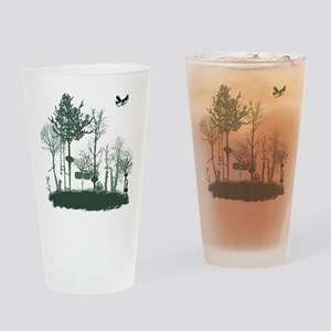 A Natural Band Drinking Glass