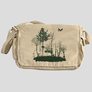 A Natural Band Messenger Bag