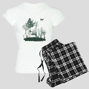 A Natural Band Women's Light Pajamas