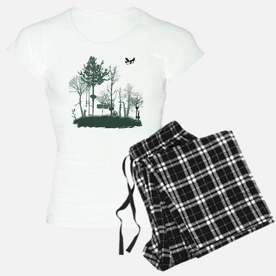 A Natural Band Pajamas