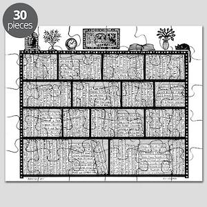Bookshelf #4 Puzzle