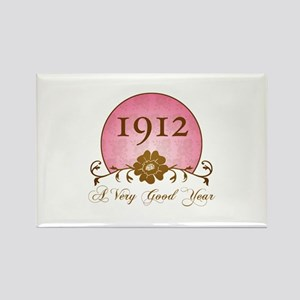 1912 A Very Good Year Rectangle Magnet