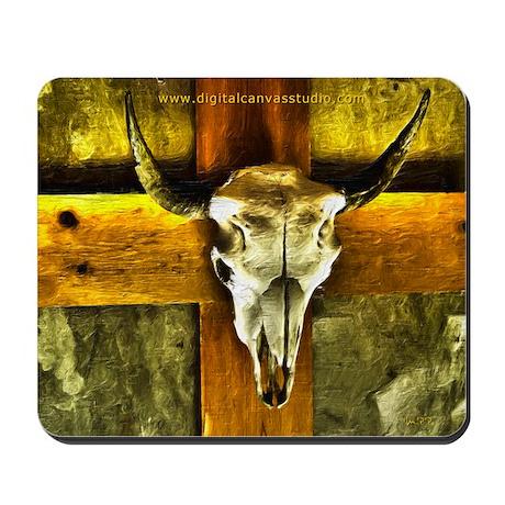 Buffalo Jesus Mousepad