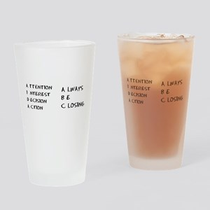 Glengarry Closers Drinking Glass