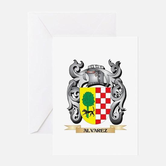 Alvarez Family Crest - Alvarez Coat Greeting Cards