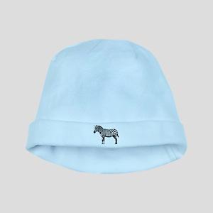 Zebra baby hat