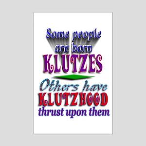 Born Klutzes Mini Poster Print