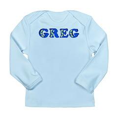 Greg Long Sleeve Infant T-Shirt