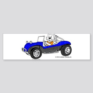 DUNE BUGGY CAT™ Sticker (Bumper)