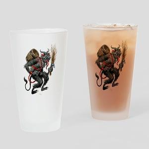 The Krampus Drinking Glass