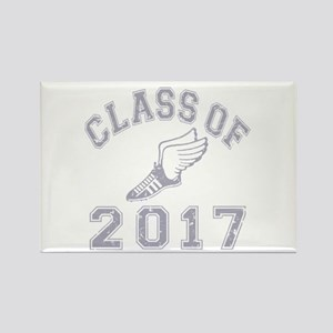 Class Of 2017 Track & Field Rectangle Magnet