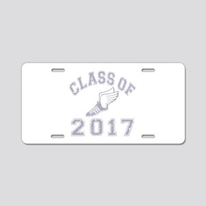Class Of 2017 Track & Field Aluminum License Plate