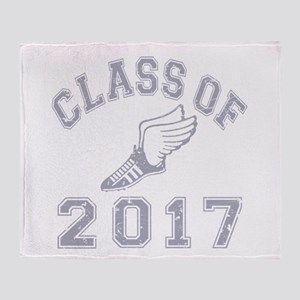 Class Of 2017 Track & Field Throw Blanket