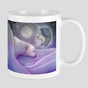 Polar bear and Angel Mug