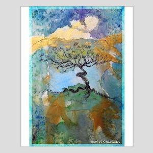 Tree, beautiful, art, Small Poster