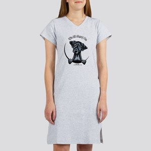 Black Lab IAAM Women's Nightshirt