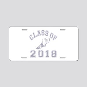 Class Of 2018 Track & Field Aluminum License Plate