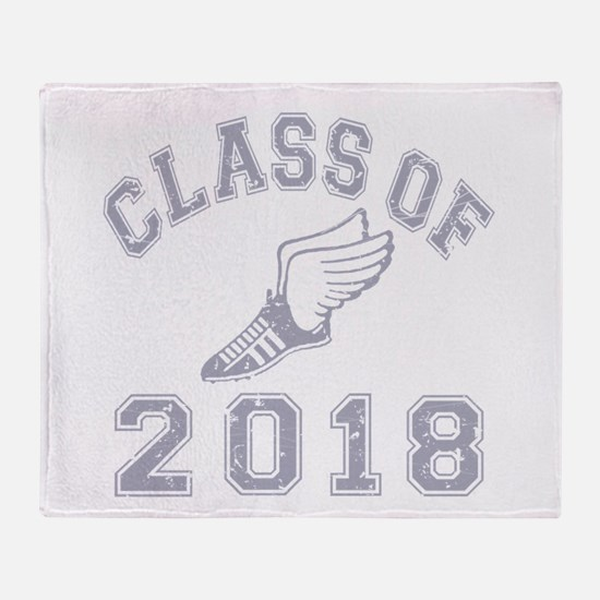 Class Of 2018 Track & Field Throw Blanket