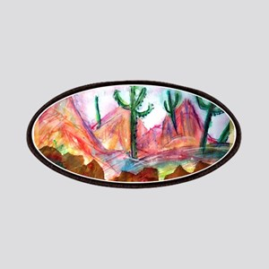 Colorful, Desert, art, Patches