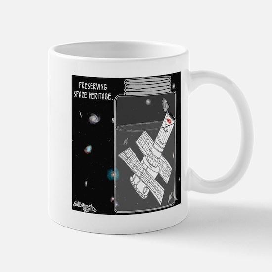 Preserving Space Heritage Mug