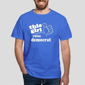 This Girl Democrat Dark T-Shirt