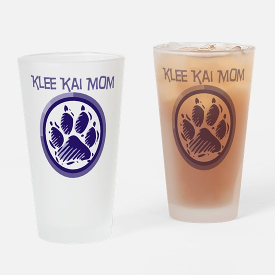 Klee Kai Mom Drinking Glass