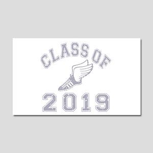 Class Of 2019 Track & Field Car Magnet 20 x 12