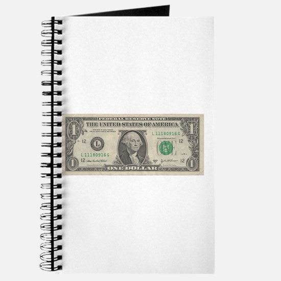 Dollar Bill Journal