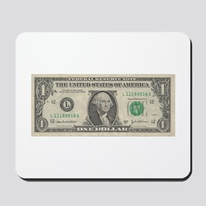 Dollar Bill Mousepad