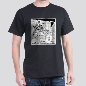Archaeology On Mars Dark T-Shirt