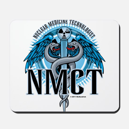 NMCT Caduceus Blue Mousepad