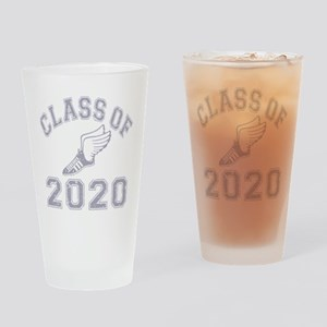 Class of 2020 Track & Field Drinking Glass