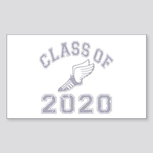 Class of 2020 Track & Field Sticker (Rectangle)