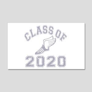 Class of 2020 Track & Field 22x14 Wall Peel