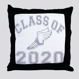 Class of 2020 Track & Field Throw Pillow