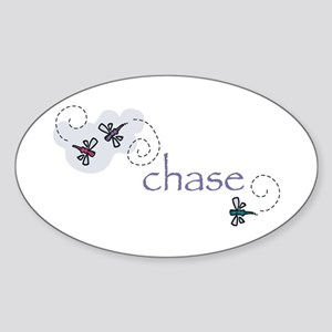 Chase Oval Sticker