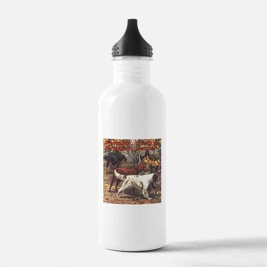 Unique English setter art Water Bottle